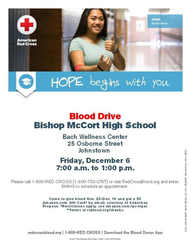 National Honor Society sponsored BLOOD DRIVE Thumbnail Image