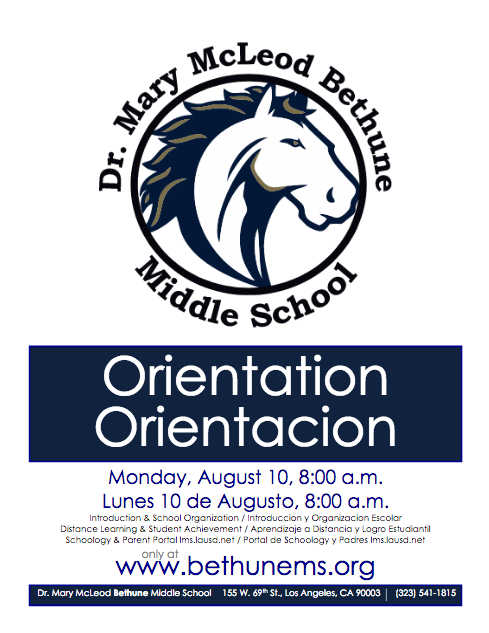 Orientation / Orientación Featured Photo