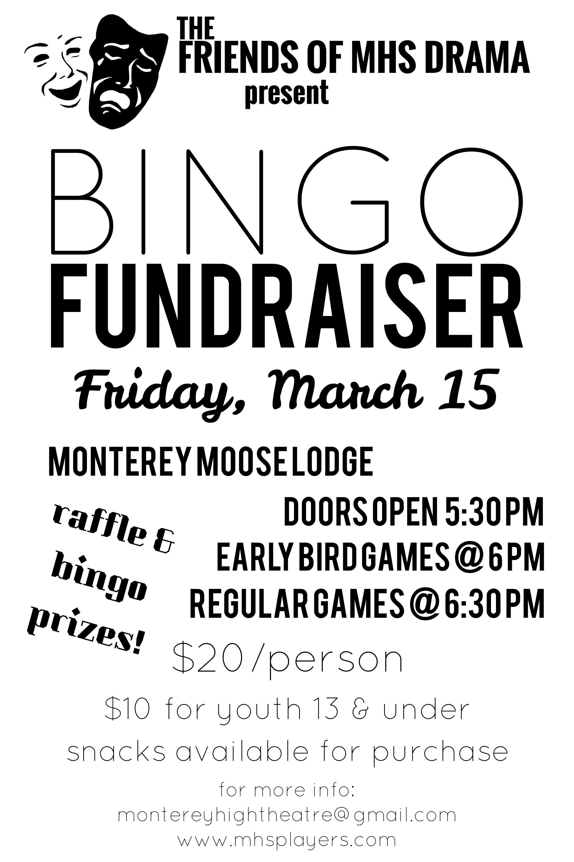 BINGO Drama Fundraiser