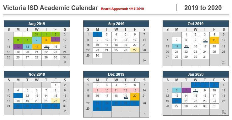 VISD Makes Important Changes to the 2019-2020 Academic Calendar Thumbnail Image