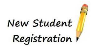 2018-2019 NEW STUDENT REGISTRATION Thumbnail Image