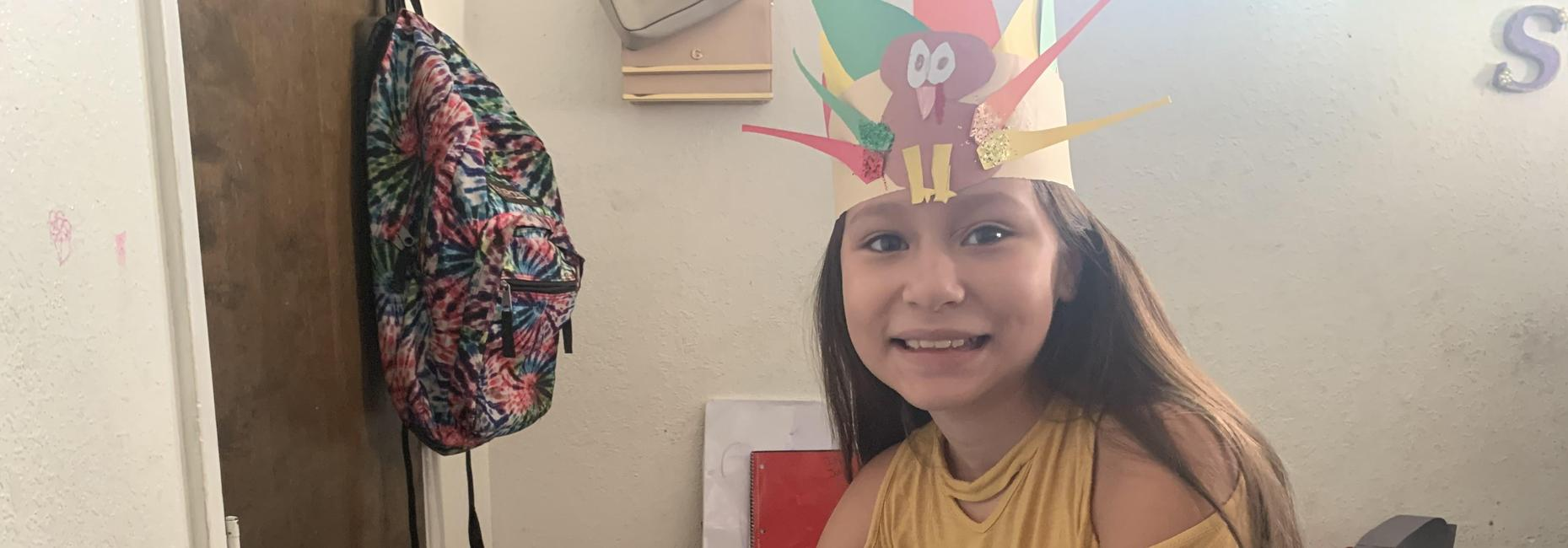 Distance Learning- Thanksgiving Hat Project