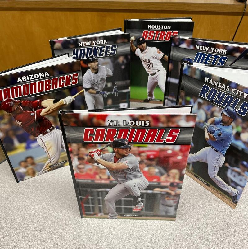 TES & TMS Libraries Receive Baseball Class Sets! Featured Photo