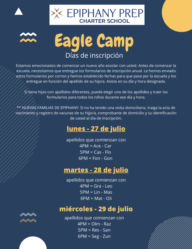 Eagle Camp Flier