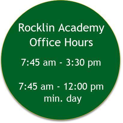 Rocklin Academy Office Hours