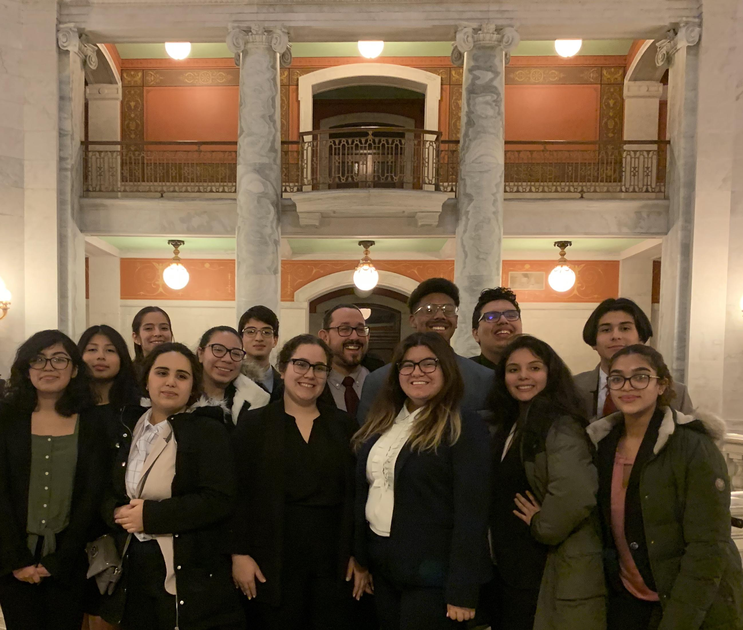2019-2020 Mock Trial Team