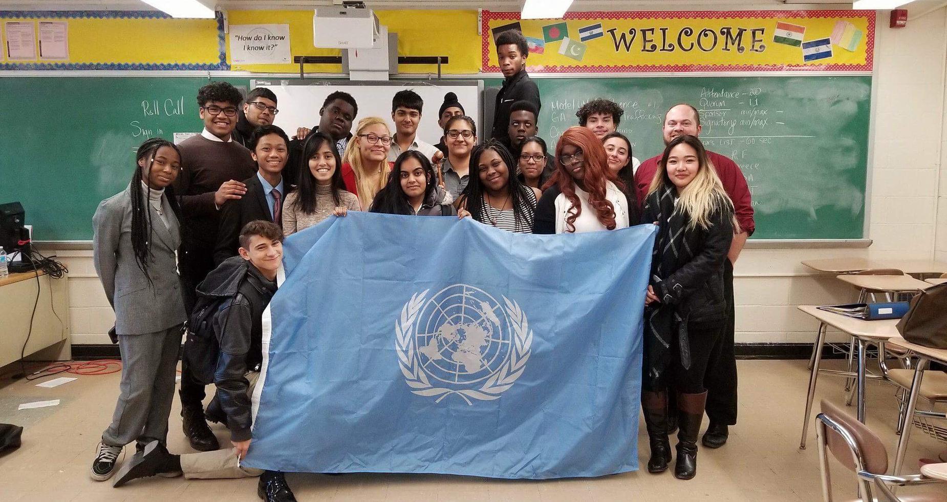 MVBs Model UN Team