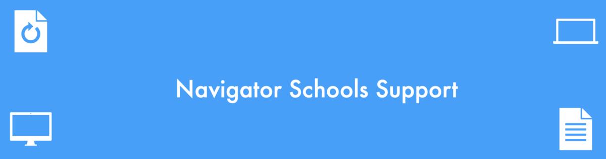 Navigator Support Banner
