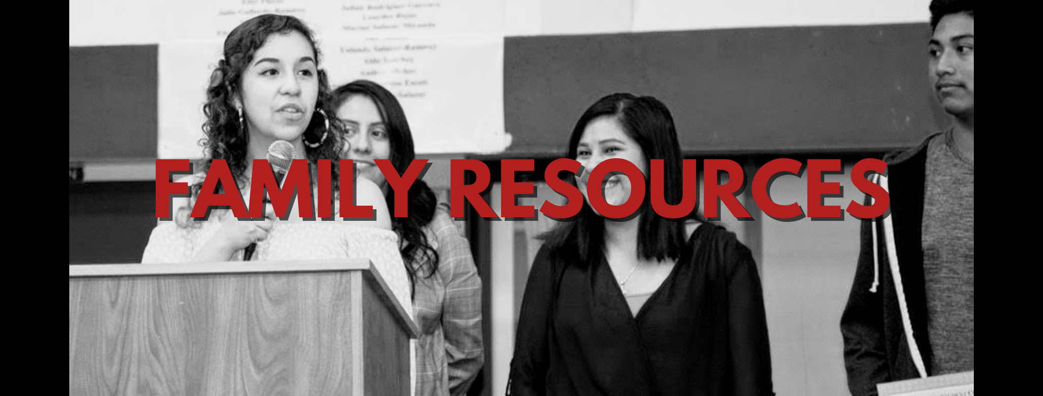 Family Resources - Header