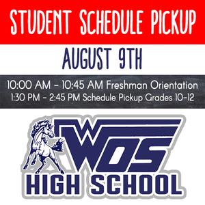 High School Schedule Pickup