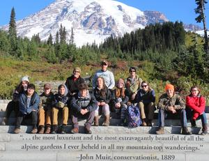 MEAD students in Paradise Camp on Mt. Rainier!