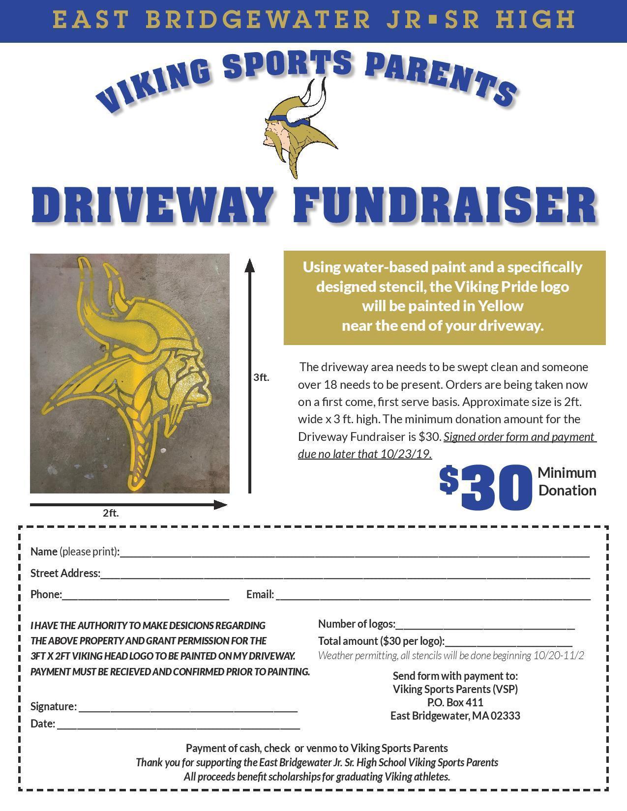Driveway Fundraiser