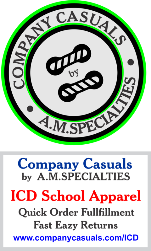 ICD School Apparel from A.M. Specialties/Company Casuals Featured Photo