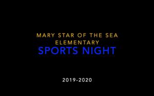 Sports Night 2020 Intro