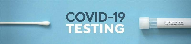 COVID-19 Test Sign Image