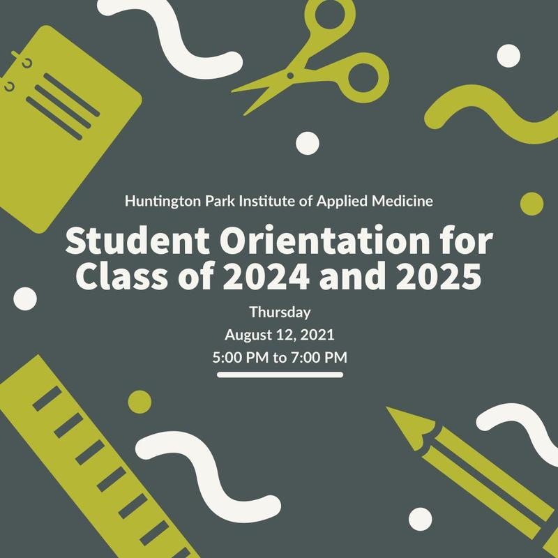 Student Orientation for Class of 2024 and 2025 Thumbnail Image