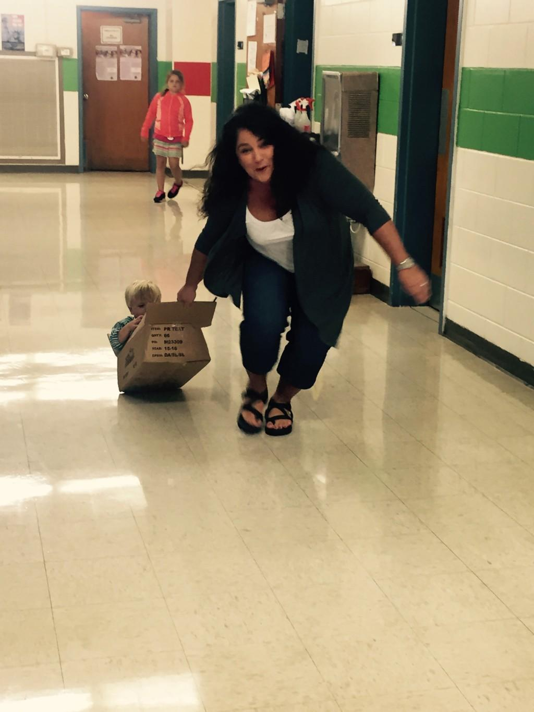 Go Mrs. Mason go!