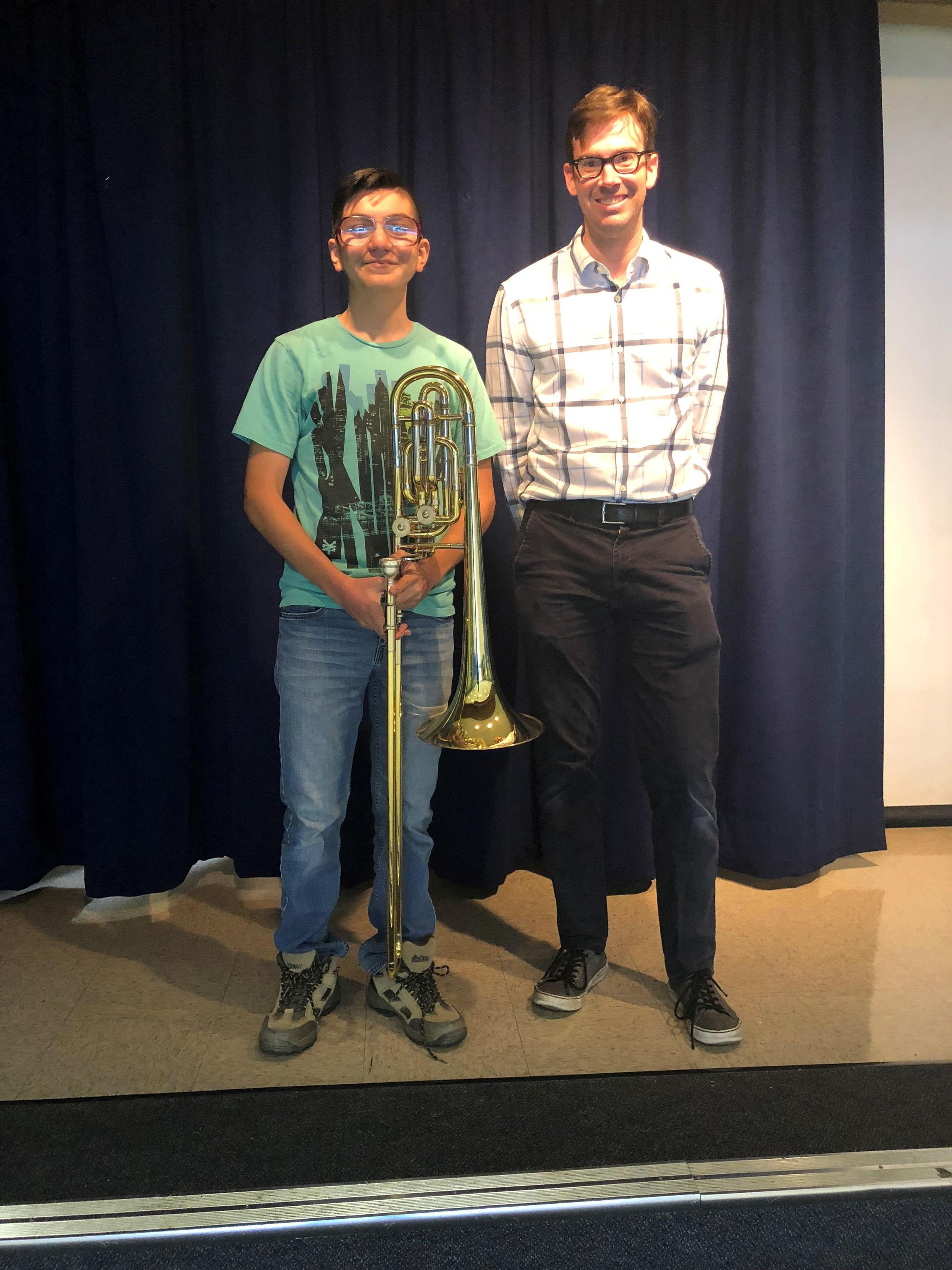 Alexander Gonzales and Mr. Dolan