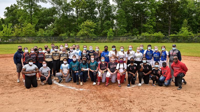 Middle School all-star softball team
