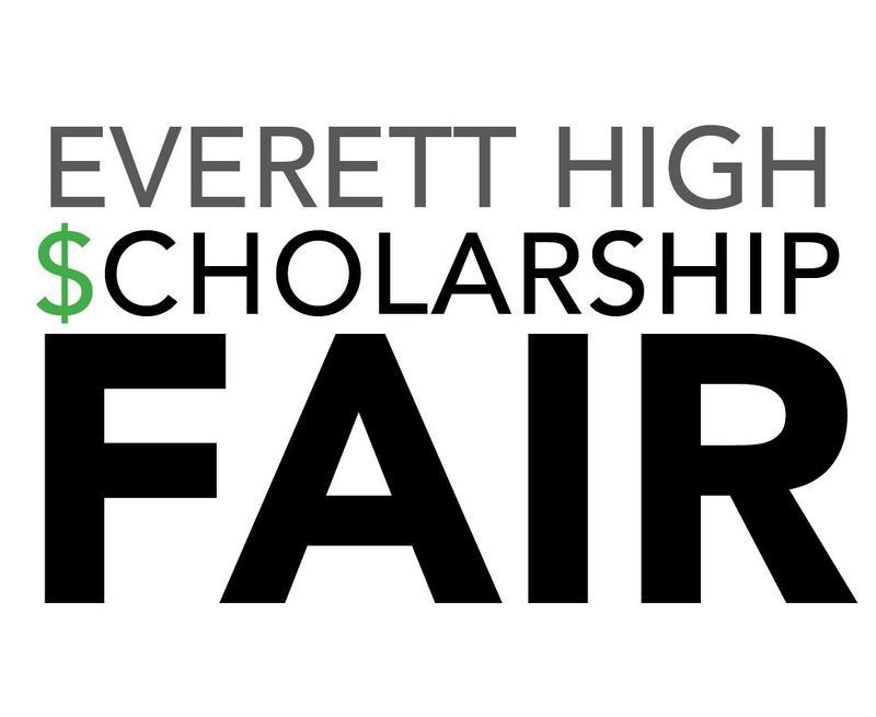 Everett High Scholarship Fair with the