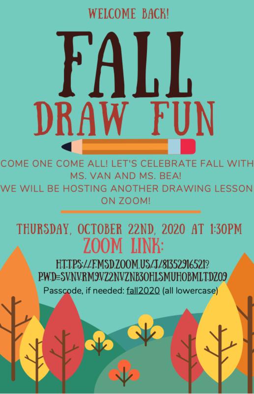 Fall Drawing Fun Thumbnail Image