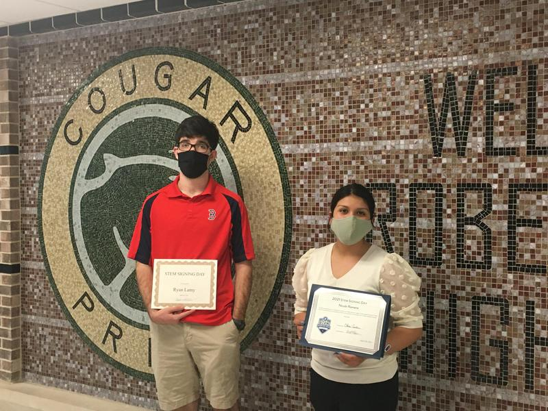 Seniors Participate in Virtual STEM Signing Day Featured Photo