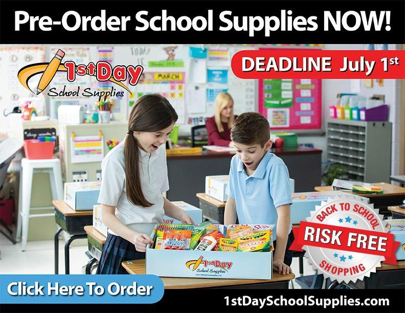 School Supplies for 2021-2022 Featured Photo