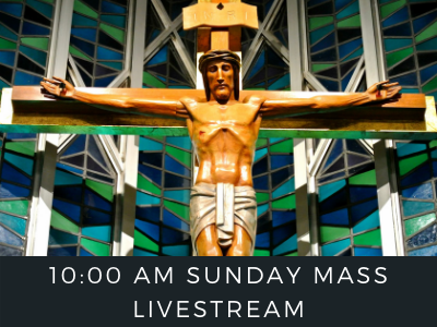 Sunday Mass Livestream Featured Photo