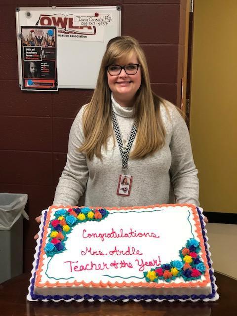 Teacher of the Year, Danielle Ardle
