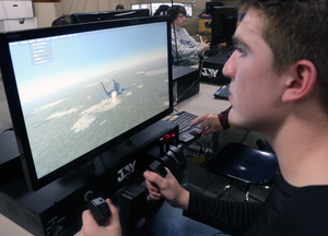 Aviation program at Siegel HS