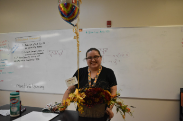 Chasity McCraw the TJCA Upper Campus Teacher of the Year for 2020-2021