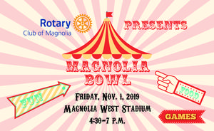 Magnolia Bowl will take place on Friday, Nov. 10, 2019.