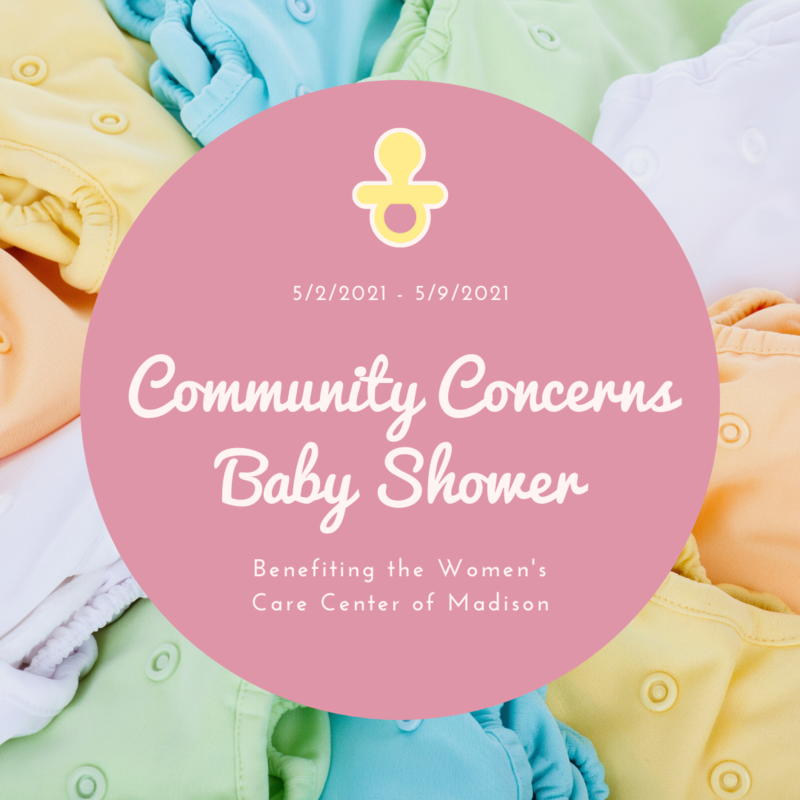 Community Concerns Baby Shower Thumbnail Image