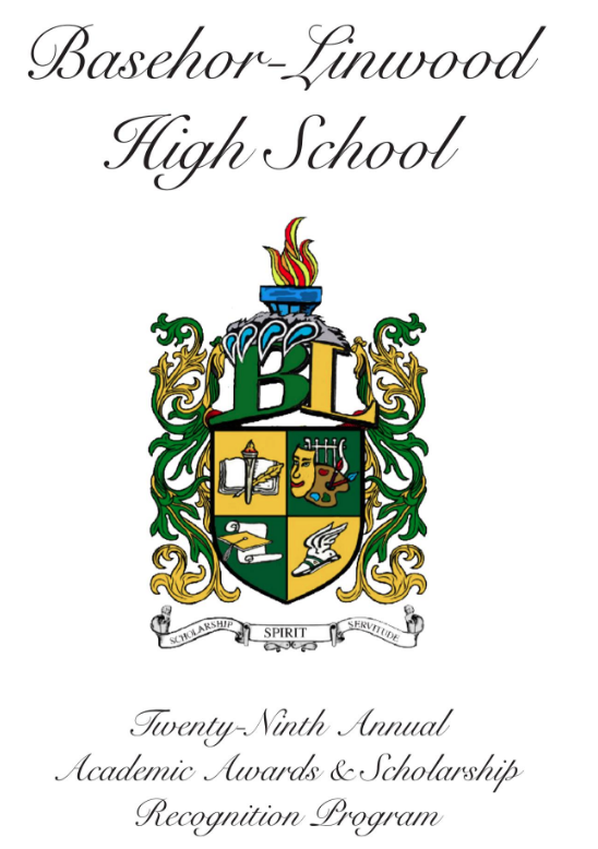BLHS Program Cover