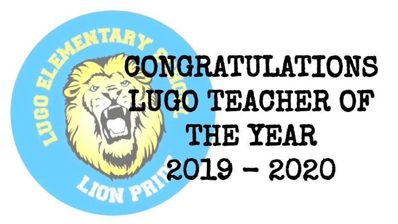 LUGO TEACHER OF THE YEAR!    MAESTRO DEL AÑO DE LUGO! Featured Photo