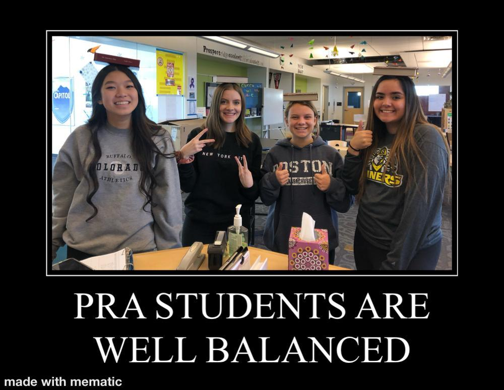 Well balanced students