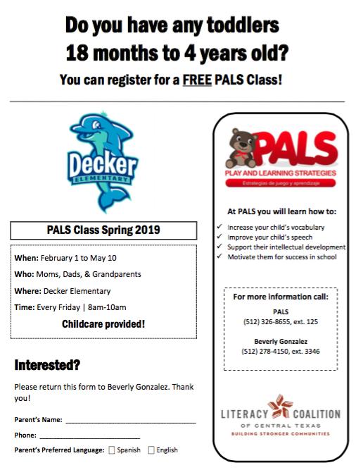 Free Classes for Preschool Children