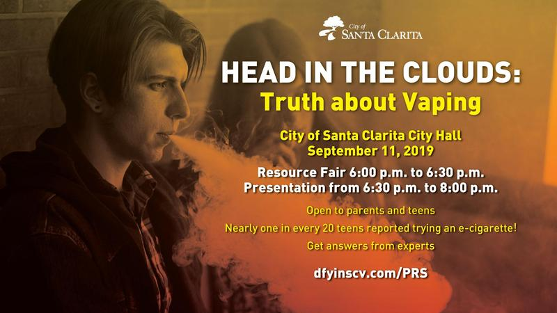 Truth About Vaping Flyer