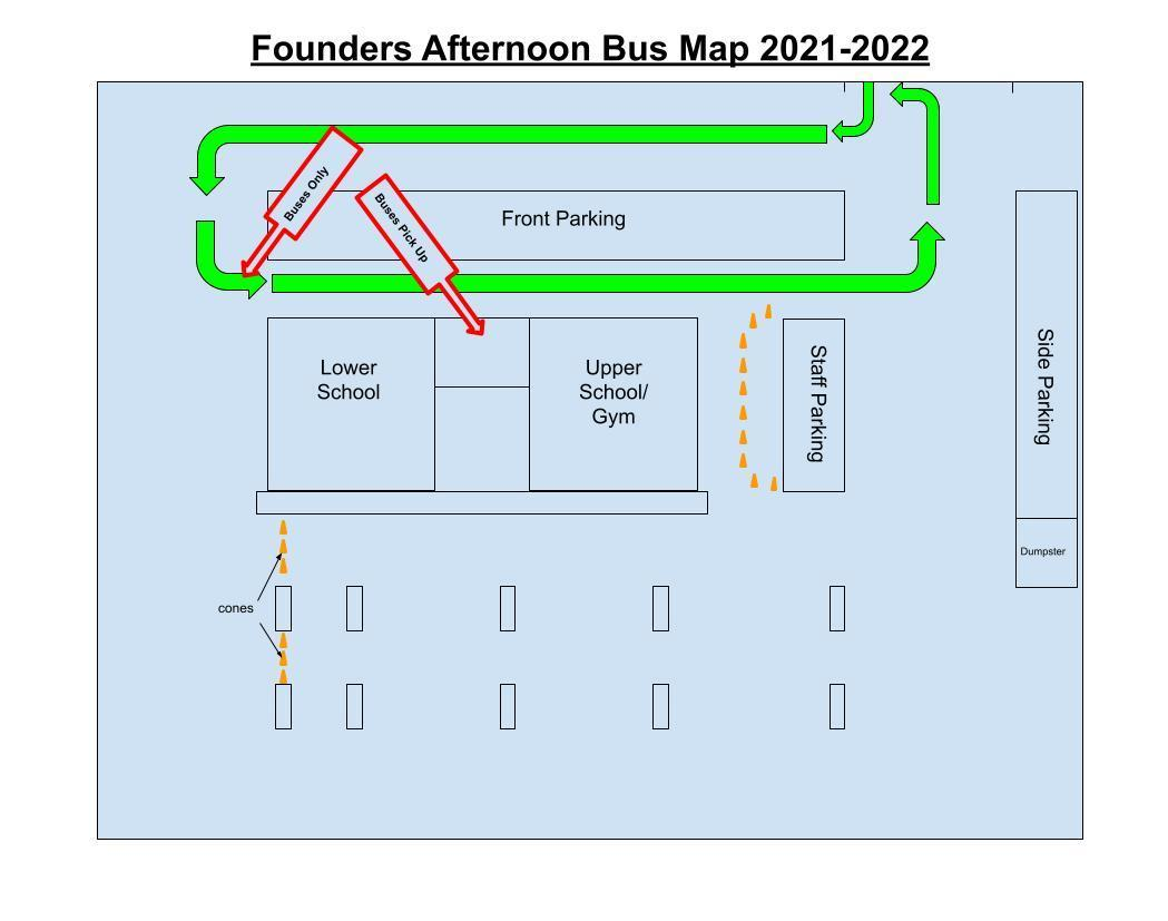 FCAS Pick Up Map