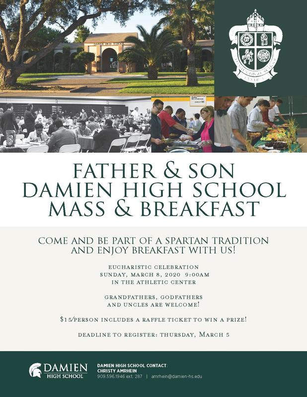 Annual Father-Son Mass & Breakfast Featured Photo