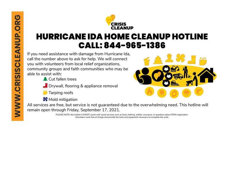 Ida Relief Resources Featured Photo