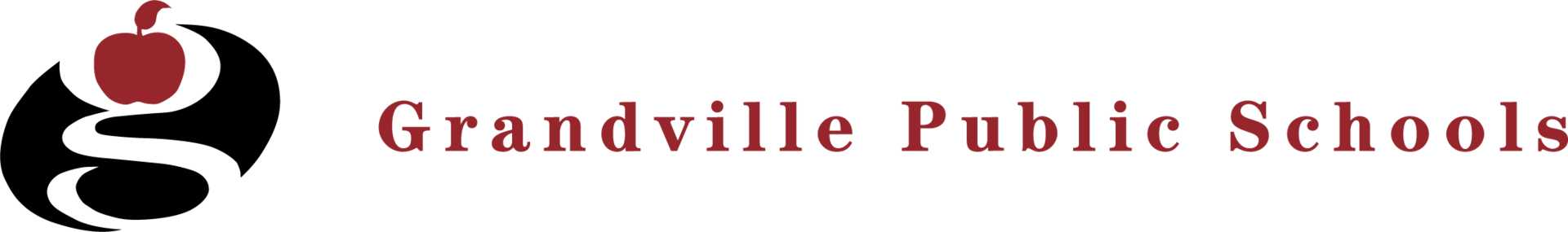 g logo with text grandville public schools