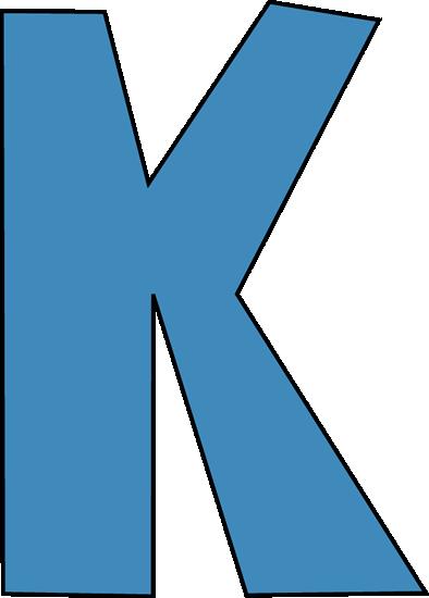 letter K for Kinder