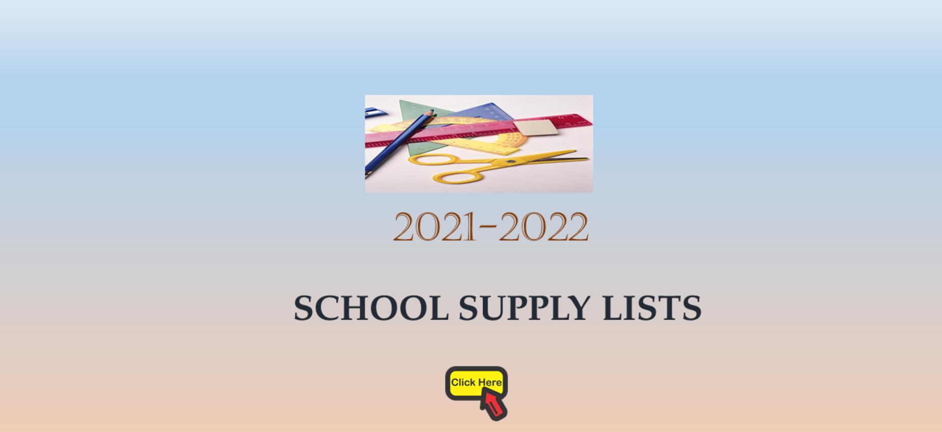 LCSD School Supply Lists