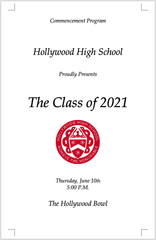 Class of 2021 Commencement Program & Graduation Video Featured Photo