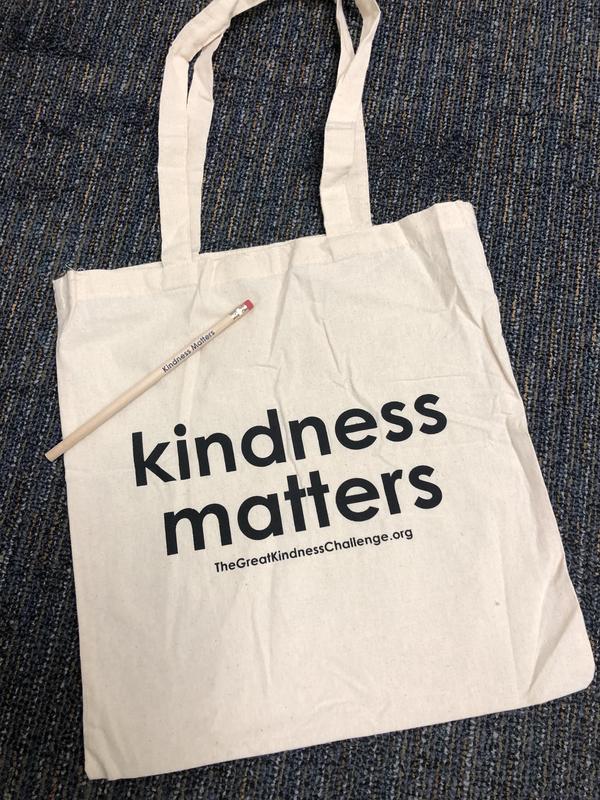 Photo of Kindness bag, pencil