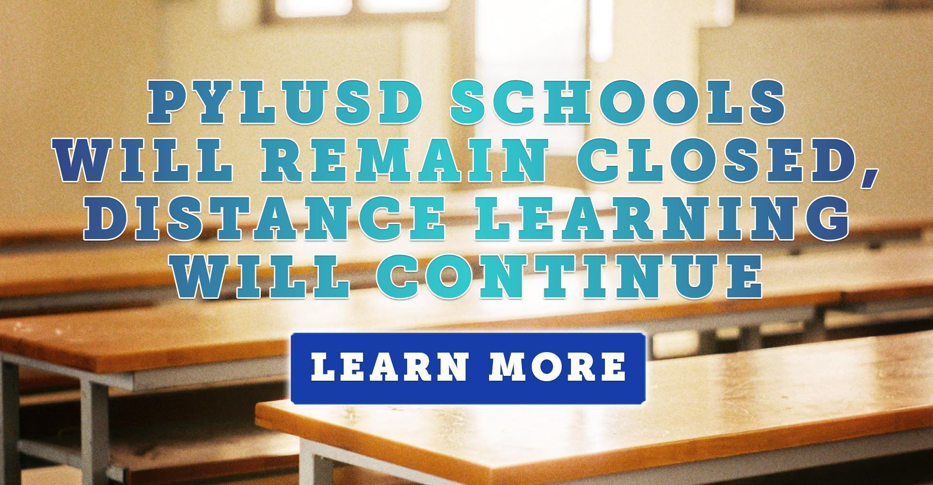 Update: Schools Will Remain Closed, Distance Learning Will Continue