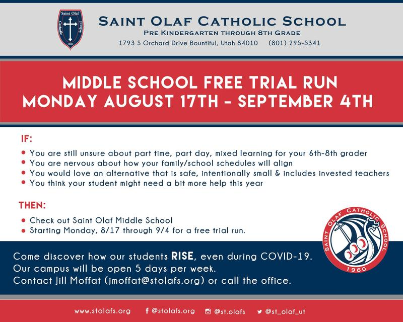 Middle School - Free Trial Run Featured Photo