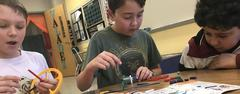 Tannahill fifth graders learn about alternative power sources through a WSISD Education Foundation Grant.
