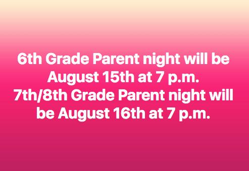 Parent Night Dates Announced Thumbnail Image